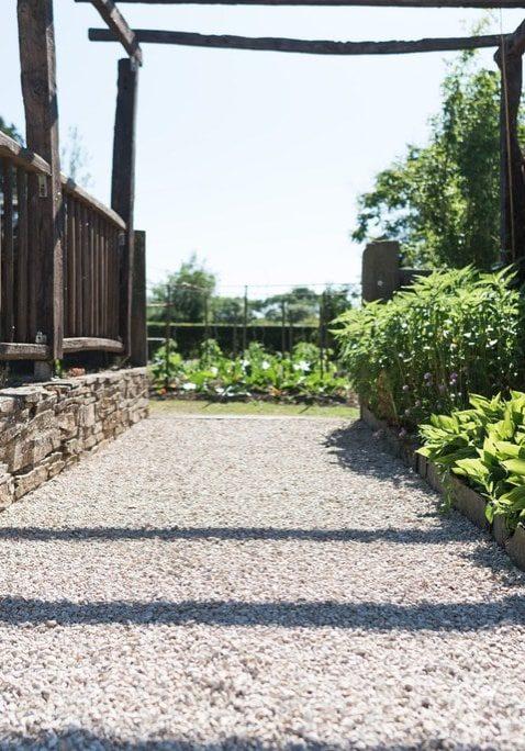 Création de muret jardin Ancenis 44